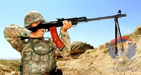 ԼՂՀ ՊՆ.Առաջնագծում իրադրության հետագա լարման հետևանքների  ողջ պատասխանատվությունը ընկնելու է  ադրբեջանական կողմի վրա
